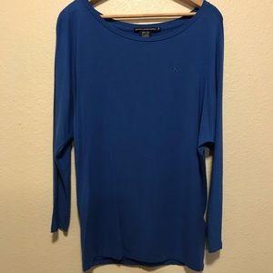 Ralph Lauren Sport Blue Long Sleeve T Shirt Size M
